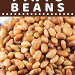 pinto beans with a text overlay that says now cook this instant pot pinto beans