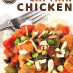 country captain chicken over rice with a text overlay that says now cook this quick and easy country captain chicken