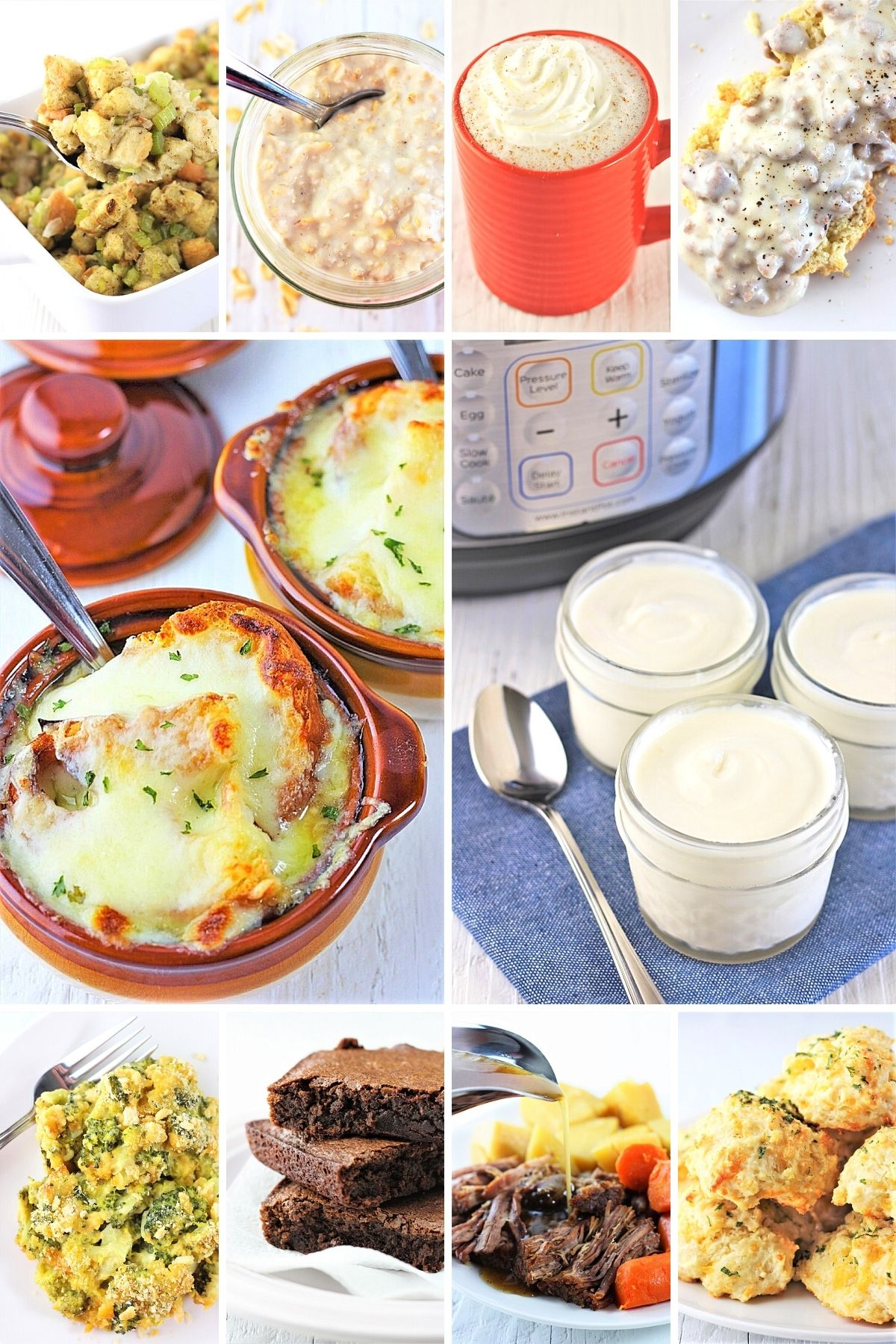 collage of the top 10 most popular recipes of 2020